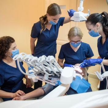 Dental treatment under sedation
